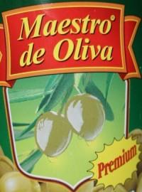 Maestro de Oliva (Маэстро де Олива) - оливки и маслины из Испании. Отзывы
