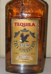 Tres Sombreros (Трес Собрерос) - текила из Мексики, которую импортирует Сильпо